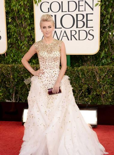 Globos de oro 2013 Julianne Hough